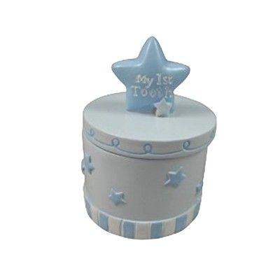 Tandask - blå med stjärnor