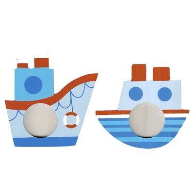 Fotoram - set med 2 st - Båtar