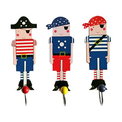 Krokar, 3 st - Pirater