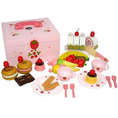Leksaksmat - kaklåda - Strawberry Picnic