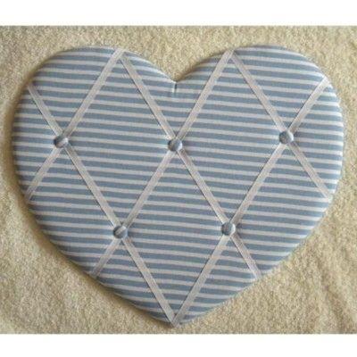 Anslagstavla - blått hjärta