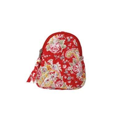 Väska, paisley - röd