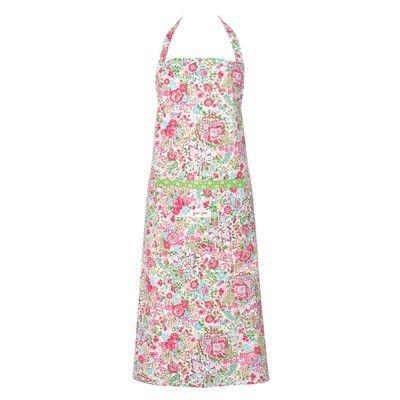 Förkläde - blommigt