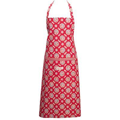 Förkläde - Millie, röd