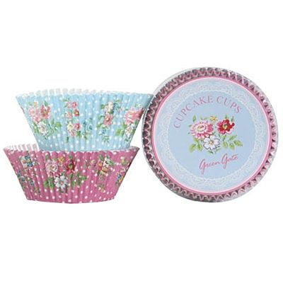 Muffinsformar - Wendy, med blommönster