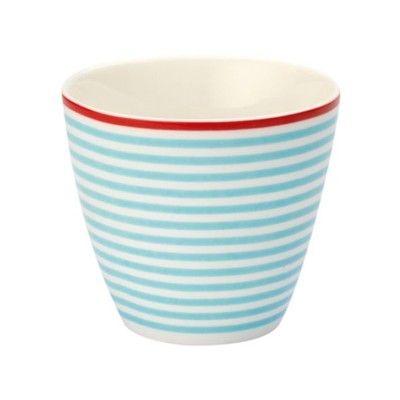 Lattemugg i porslin - juliet blue - GreenGate