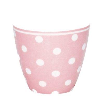 Lattemugg i porslin - Naomi pink