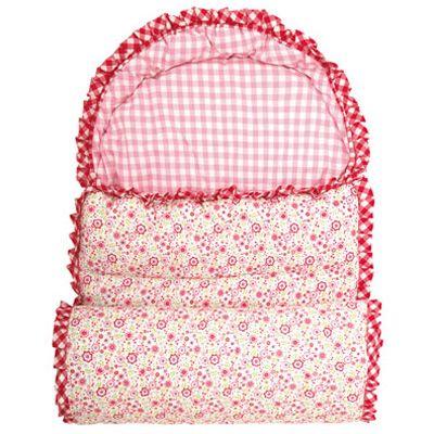 Sovsäck - rosablommig