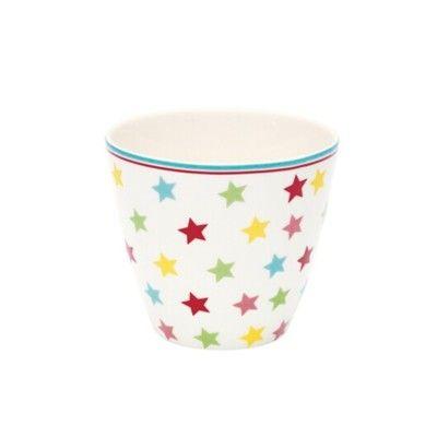 Lattemugg, mini - Star - multi