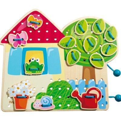 Sykort - Hus med trädgård