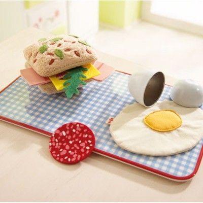 Leksaksmat - Frukost i tyg