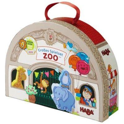 Zoo med djur i väska
