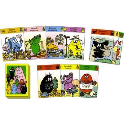 Kortspel med Barbapapa