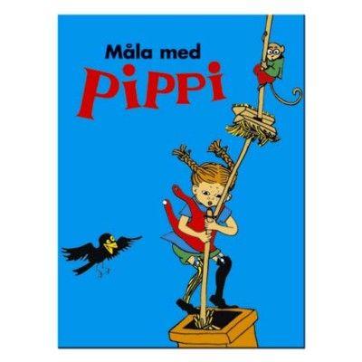 Målarbok - Pippi