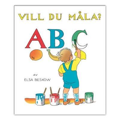 Målarbok - ABC