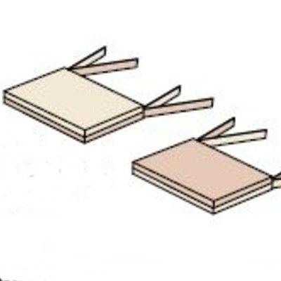 Sittdyna till möbelset - 2 st - sand