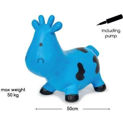 Hoppdjur - kossa, blå och svart