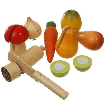 Leksaksmat - Delbar mat i nät - Magni