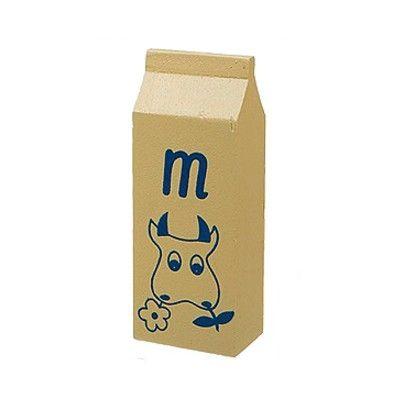 Leksaksmat - Mjölkpaket i trä - Magni