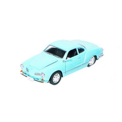 Bil i metall - VW Karmann-Ghia - ljusblå