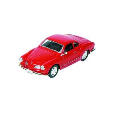 Bil i metall - VW Karmann-Ghia - röd