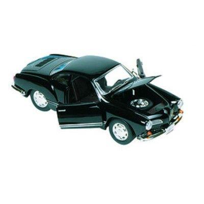 Bil i metall - VW Karmann-Ghia - svart