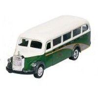 Bil i metall - Mercedes Benz, omnibus - grön