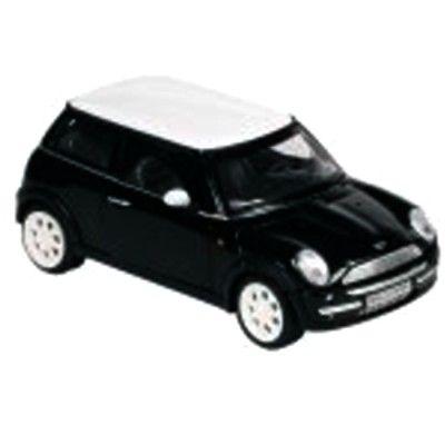 Bil i metall - Mini Cooper - svart