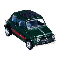 Bil i metall - Fiat Sport 500 - svart