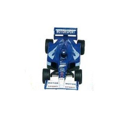 Bil i metall - Racerbil Super Formula I - blå