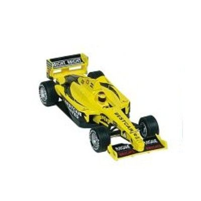 Bil i metall - Racerbil Super Formula I - gul