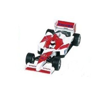 Bil i metall - Racerbil Super Formula I - röd