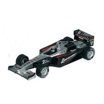 Bil i metall - Racerbil Super Formula I - svart