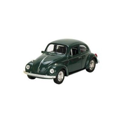 Bil i metall - Volkswagen classical Beetle - grön