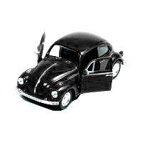 Bil i metall - Volkswagen classical Beetle - svart