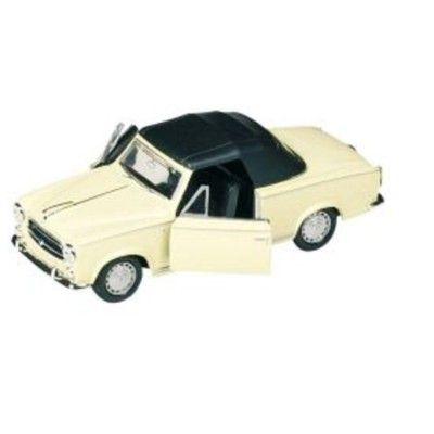 Bil i metall - Peugeot 403 - creme