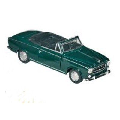 Bil i metall - Peugeot 403 - grön