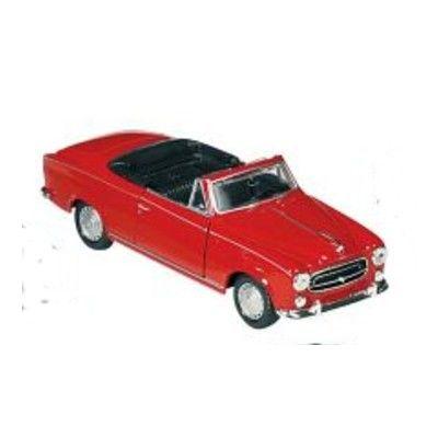 Bil i metall - Peugeot 403 - röd