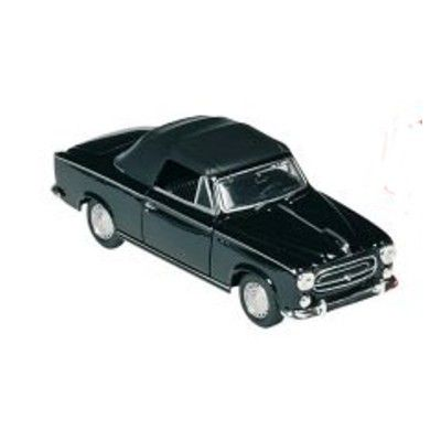 Bil i metall - Peugeot 403 - svart