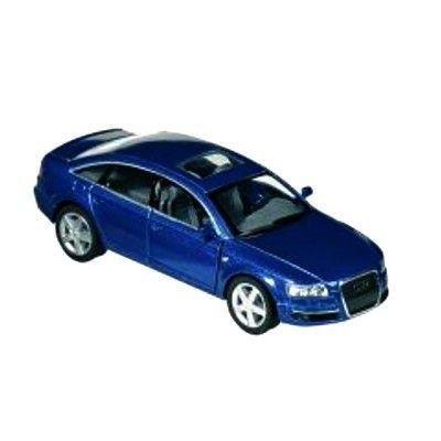 Bil i metall - Audi A6 - blå