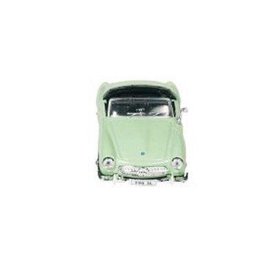 Bil i metall - Mercedes-Benz 190SL - ljusgrön