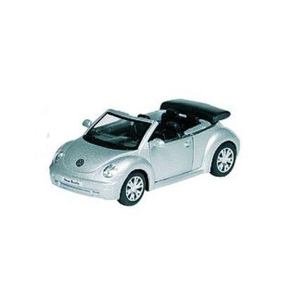 Bil i metall - VW Beetle Cabriolet - silver