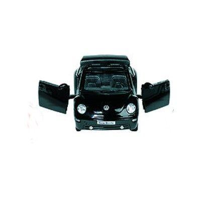 Bil i metall - VW Beetle Cabriolet - svart