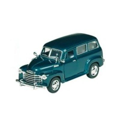 Bil i metall - Chevrolet Suburban - grön