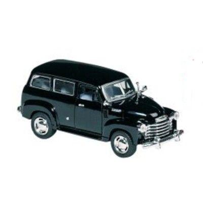 Bil i metall - Chevrolet Suburban - svart