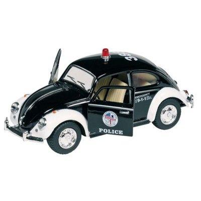 Bil i metall - Volkswagen classical Beetle - polis