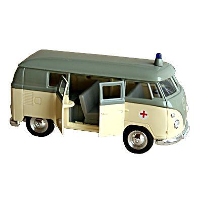 Bil i metall - Volkswagen Classical Bus - Ambulans