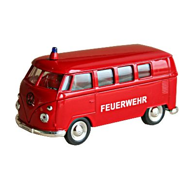 Bil i metall - Volkswagen Classical Bus - Brandbil