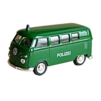 Bil i metall - Volkswagen Classical Bus - Polis