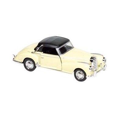 Bil i metall - Mercedes Benz 300s (1955) - creme